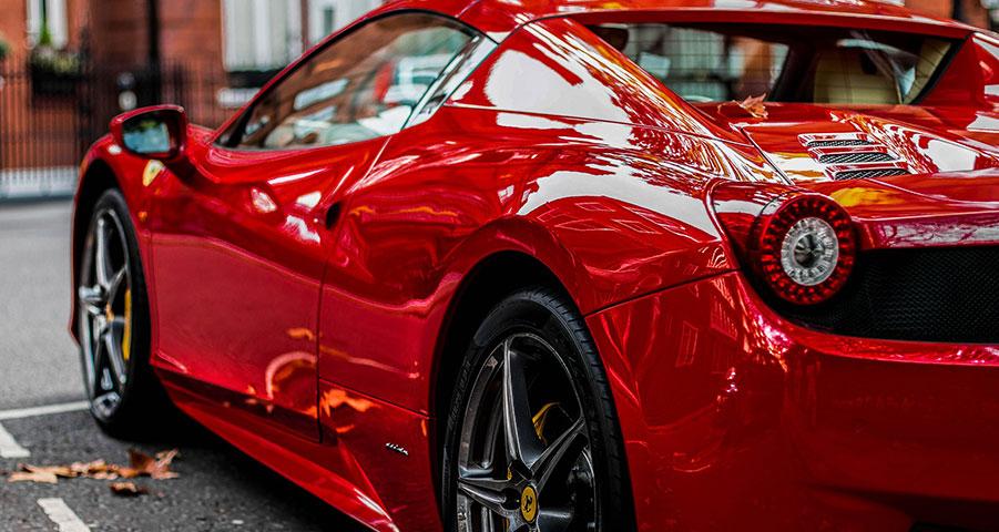 Köra Ferrari - en fantastisk upplevelse